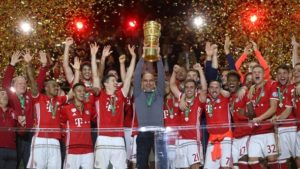 FC Bayern München wins DFB-Pokal!